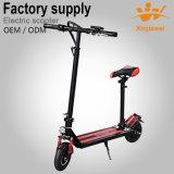 E-Scooter de équilibrage se pliant d'individu électrique pliable de planche à roulettes de coup-de-pied avec le siège