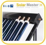 Nuevo colector solar Shc del tubo de calor del diseño