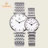 Montre-bracelet inoxidable 70033 de montres d'hommes de femmes de mode