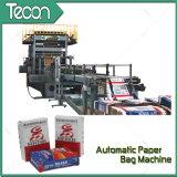 Instalaciones ahorros de energía de la fabricación de la bolsa de papel de la válvula de la impresión de Flexo