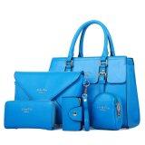 Do desenhador de moda de couro 5 da senhora Bolsa da mulher do plutônio bolsa composta ajustada do saco do PCS