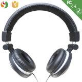 Auriculares móveis estereofónicos prendidos do auscultadores da alta qualidade de Shenzhen couro por atacado