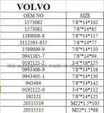 Volvoの前部車輪ハブのボルト40cr等級10.9