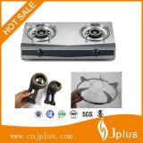 cuiseur de gaz de brûleur à fer de moulage de 100X100mm Jp-Gc200