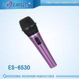 ES6530スタジオのKTVのためのよい音質のElectretのコンデンサマイクロホン