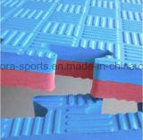 couvre-tapis d'arts martiaux utilisés par puzzle de 1mx1m EVA pour le karaté de Taekwondo