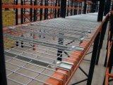 パレットラッキングの倉庫の記憶のための電流を通されたワイヤーデッキのパネル