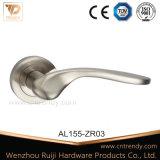 Punho de porta de alumínio da alavanca da boa qualidade no Rosette (AL160-ZR05)