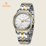In het groot Eenvoudig Automatisch Polshorloge 72323 van de Vrouwen van de Riem van het Staal van de Manier van het Horloge van Mannen