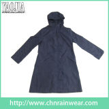 Waterproof PVC Raincoat повелительницы с Fashion Design