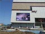 Grande tela video ao ar livre do diodo emissor de luz para o anúncio comercial