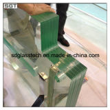 10mm Ultra Clear Toughened Safety Glass pour Glass Fencing