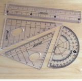 Drawing를 위한 Nbql-1745 Geometry Stationery 통치자 Set