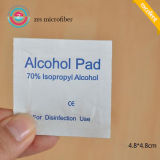 De hoogste Verkoper veegt Antiseptische Huid 100PCS/Box 70% de Stootkussens van Isopropyl af Alcohol