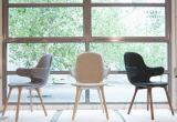Cadeira do lazer da fibra de vidro da forma do Hug com pés de madeira (FC-011)
