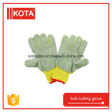 Перчатка руки работы кожи вырезывания безопасности анти-