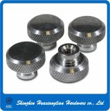 OEM Alloy Steel Knurled Thumb Knob Nuts com Collar