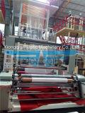 máquina que sopla de la película de 1700m m con la devanadera doble