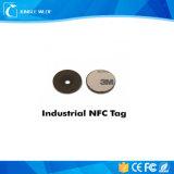 Las etiquetas engomadas de papel de Ntag213 NFC redondean 32m m