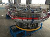 機械(6個のシャトルの織機)を作るプラスチックによって編まれる袋