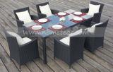 Rattan Outdoor Furntiure Dining Set Jardin Table et chaise en osier (MTC-145)