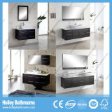 Alto Brillo-Paint gran espacio de almacenamiento Gabinete de baño (BF114D)
