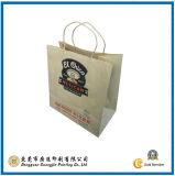 Embalaje de papel Kraft Bolsa de la compra de regalos (GJ-Bag064)