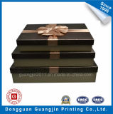 Contenitore di regalo rigido del cartone del documento unico su ordinazione di disegno