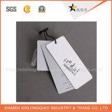 Etiqueta caliente de la caída del papel de los accesorios de la ropa de la venta