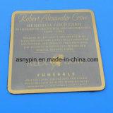 カスタマイズされたTiatniumの合金の円形のコップのコースター