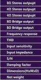 Systeem Amplifer Professionele Amplifer van Amplifer Fp10000q van de macht het Digitale