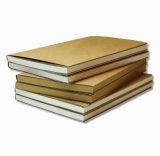 Cadernos macios práticos do papel de embalagem de Brown