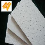 azulejo blanco del techo de las lanas minerales del color de la fuerza fuerte de 15m m