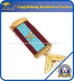 Jóia maçónica da fita feita sob encomenda da medalha nenhum MOQ