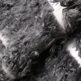 Обрабатываемая Nylon ткань шерстей с шерстью