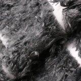 Aufbereitetes Nylonwolle-Gewebe mit Pelz