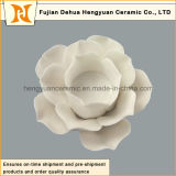 Support de bougie en céramique de forme colorée de fleur (décoratifs à la maison)