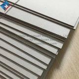 Tarjeta de viruta gris dura del papel de tarjeta para hacer los rectángulos