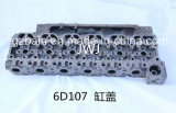 KOMATSU pcs200/210/220-8 De Cilinderkop 6D107 Van uitstekende kwaliteit voor de Vervaardiging van het Diesel die Motoronderdeel van het Graafwerktuig In Japan /China wordt gemaakt
