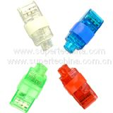 LED Multi-Color Flashing Finger Light (S3B-1001L)