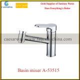 Golden Griff-gesundheitlichen Ware-Chrom-Badezimmer-Bassin-Wasser-Hahn aussondern