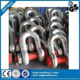 私達タイプ鎖安全ピンの合金鋼鉄G2150 Dee手錠