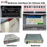 Citroen C4, C5 의 C3-Xr (MRN 시스템) 향상 접촉 항법, WiFi, Bt, Mirrorlink, HD 1080P 의 Google 지도, 실행 상점, 음성을%s 항법 영상 공용영역