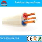 Типы электрических кабелей плоско кабель близнеца и земли