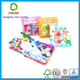 Servicio de impresión profesional del libro infantil de la alta calidad