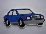 بلاستيكيّة سيارة شكل [بير بوتّل وبنر] مع مغنطيس