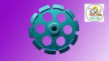 конкретный одиночный абразивный диск диаманта рядка 4 '' - 9 ''