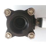 Valvole a sfera dell'acciaio inossidabile CF8m/CF8 3PC con la piattaforma bassa
