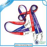 Kundenspezifische Förderung gedruckte Firmenzeichen-Polyester-Abzuglinie