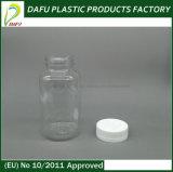 bottiglia di plastica della medicina della radura di figura rotonda dell'animale domestico 300ml